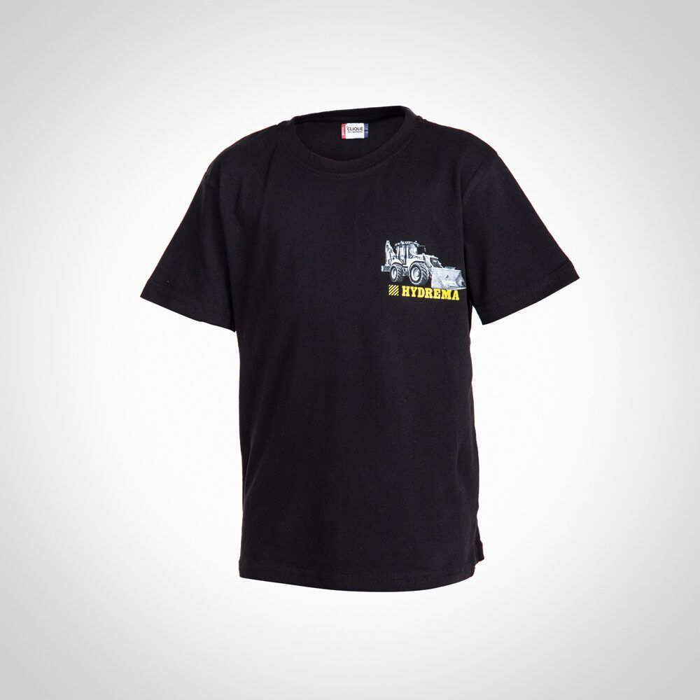 Hydrema children's short sleeve t-shirt with graphics - front
