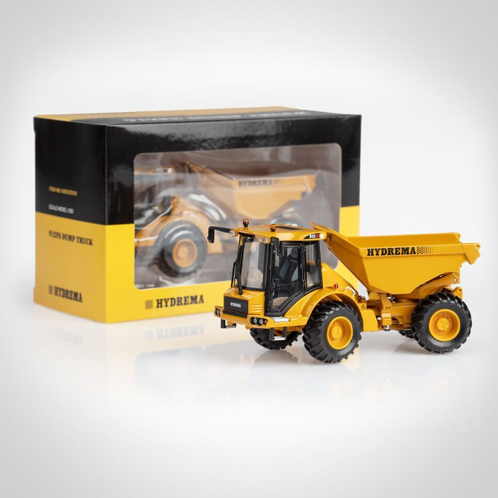 Hydrema 912FS scale model with box